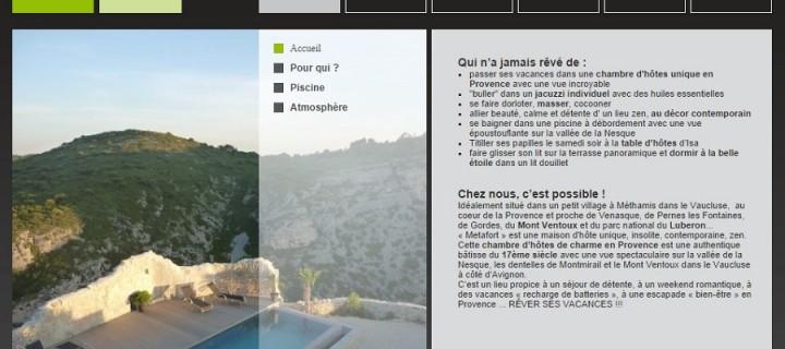 Chambres d'hôte en plein cœur de la Provence