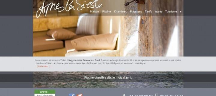 Après La Sieste est une maison d'hôtes de charme dans le Gard (30).