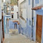 Rues étroites de certaines cités marocaines
